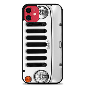 White Jeep Wrangler A0006 iPhone 11 Pro Max Case