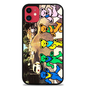 Grateful Dead Bear The Beatle A0261 iPhone 11 Pro Max Case