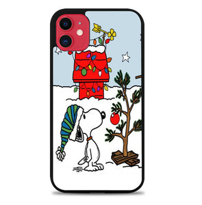 Snoopy Christmas A0467 iPhone 11 Pro Max Case