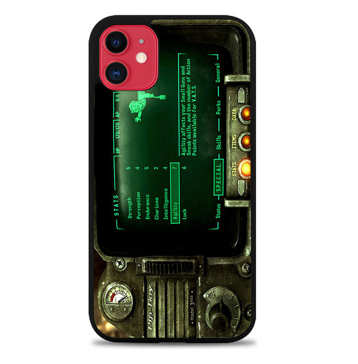 Fallout Pipboy 3000 Cute Special A1317 iPhone 11 Pro Max Case