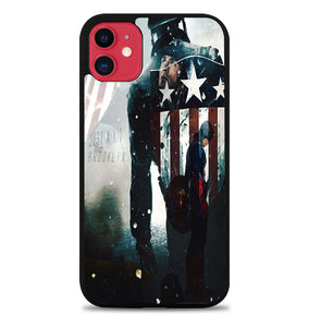captain america Just a Kid From Brooklyn A1333 iPhone 11 Pro Max Case