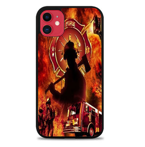Fire Fighter A1581 iPhone 11 Pro Max Case