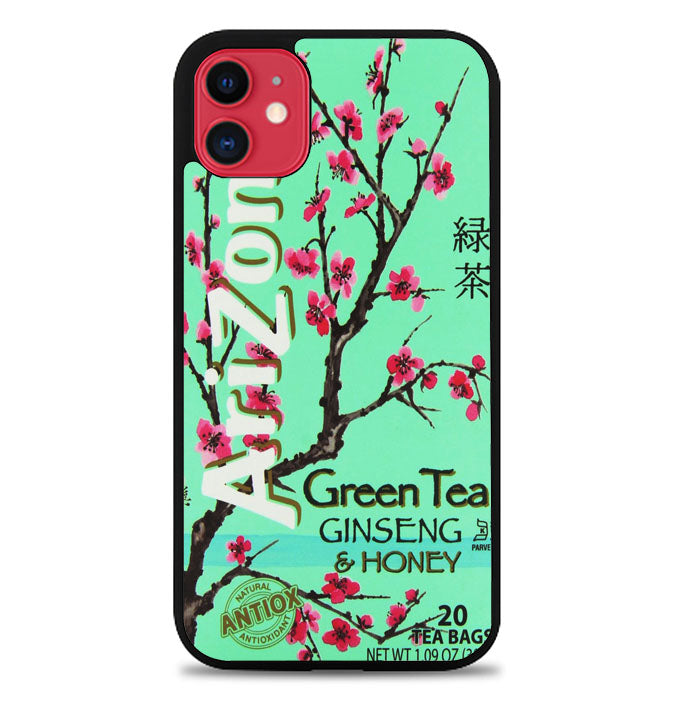 Arizona Green Tea Beverage Drink Retro Teal A1600 iPhone 11 Pro Max Case