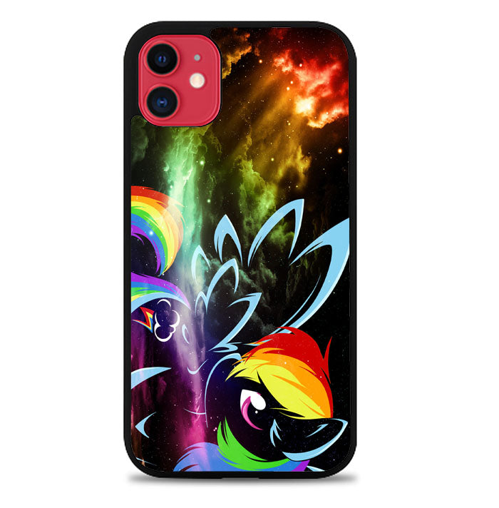 Rainbow Dash Pony My Little A1761 iPhone 11 Pro Max Case