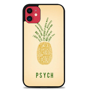 Psych Pineapple A1762 iPhone 11 Pro Max Case