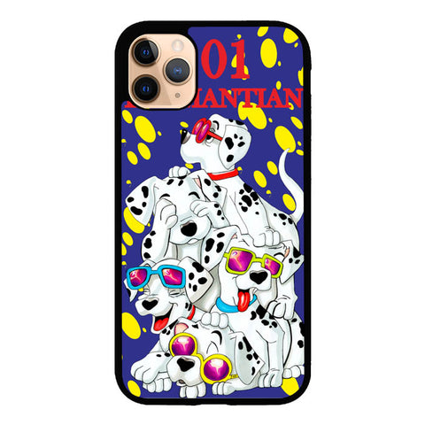 101 Dalmantian D0103  iPhone 11 Pro Max Cover Cases kurokoshop.myshopify.com