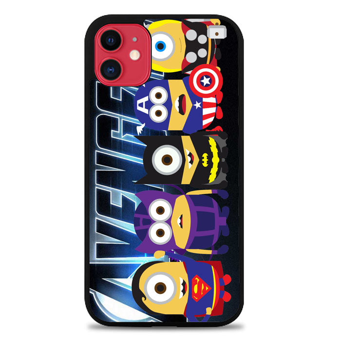 Avengers Minions Coon D0206 iPhone 11 Case