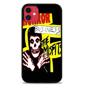 The Misfits Horror Business B0033 iPhone 5S Case - Plastic / Black iPhone 11 Pro Max Case