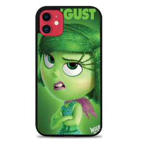 Disney Inside Out Disgust B0095 Samsung Galaxy S5 Case - Rubber / Black iPhone 11 Pro Max Case