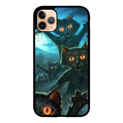 Zombie Cats Y1645 iPhone 11 Pro Max Cover Cases