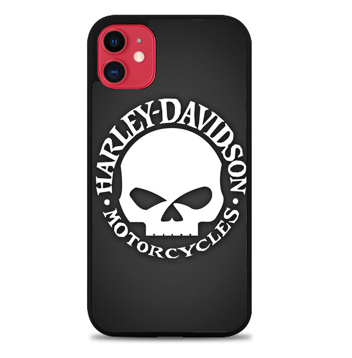 Harley Davidson Motorcycles G0135 iPhone 11 Case