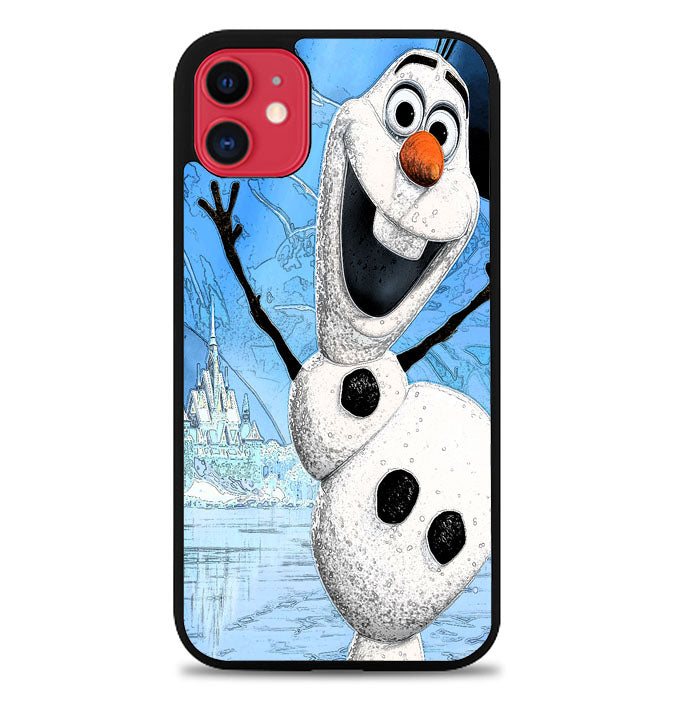 Snowman V0444 iPhone 11 Case