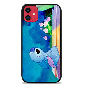 Stitch disney V0509 iPhone 11 Case