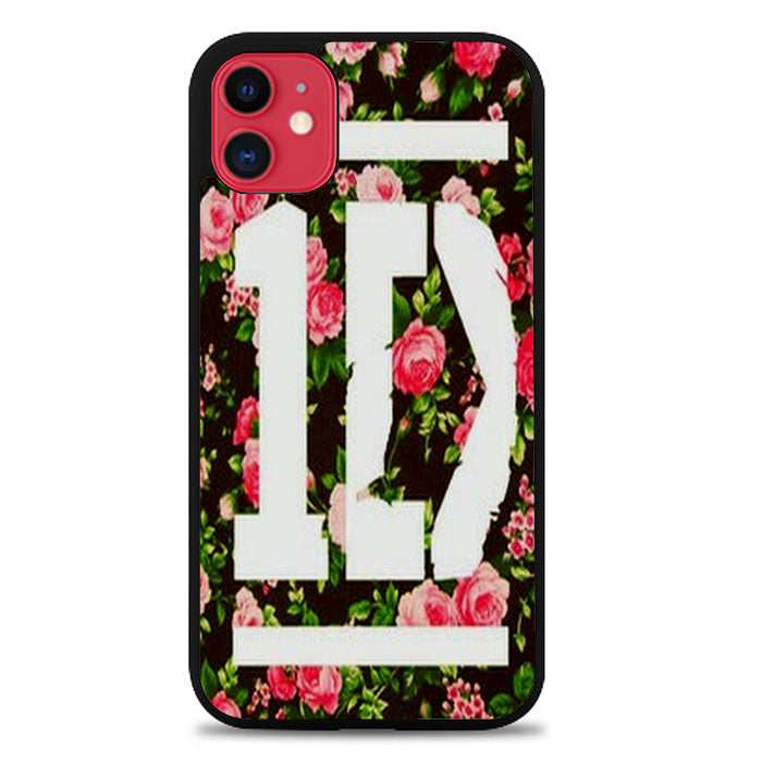 1D One Direction Floral V0288 iPhone 11 Case