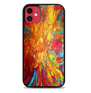 ABSTRACT PAINTINGS V0024 iPhone 11 Case