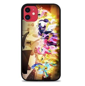 my little pony fruit hair hat V0148 iPhone 11 Case