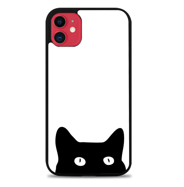 black cat V0177 iPhone 11 Case