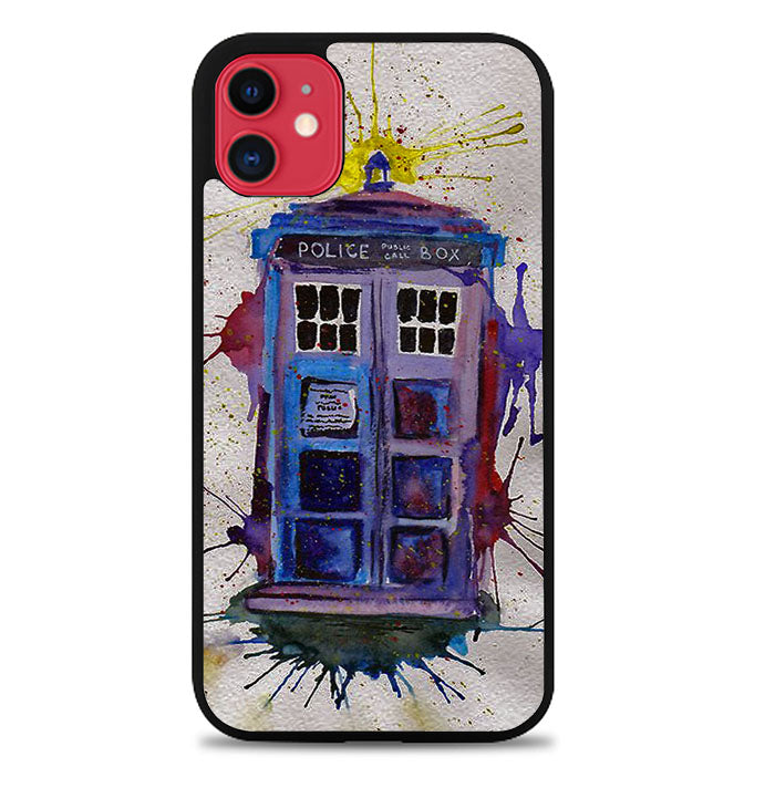 Dr Who Tardis V0184 iPhone 11 Case
