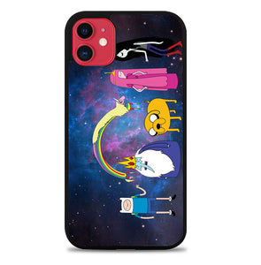 ADVENTURE TIME ON GALAXY V0574 iPhone 11 Case