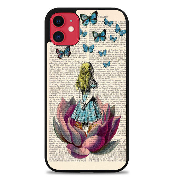 ALICE IN WONDERLAND V0659 iPhone 11 Case