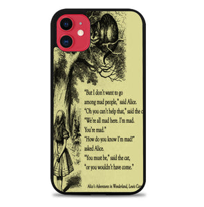 ALICE IN WONDERLAND V0660 iPhone 11 Case