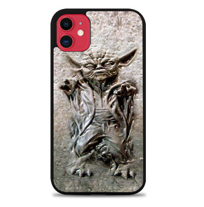 Star wars Master Yoda in carbonite V0990 iPhone 11 Case