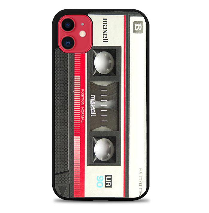 RETRO CASSETTE TAPE MAXELL MIX V1654 iPhone 11 Case