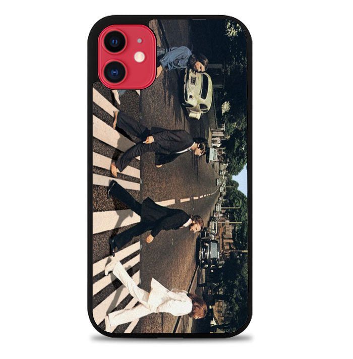 THE BEATLES ABBEY ROAD V1740 iPhone 11 Case