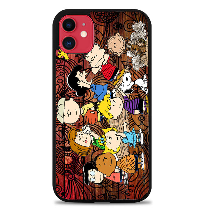 Peanuts In Background  V 2088 iPhone 11 Case
