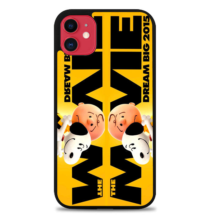 Snoopy And Charlie Brown The Peanuts 2015 Movie V 2104 iPhone 11 Case