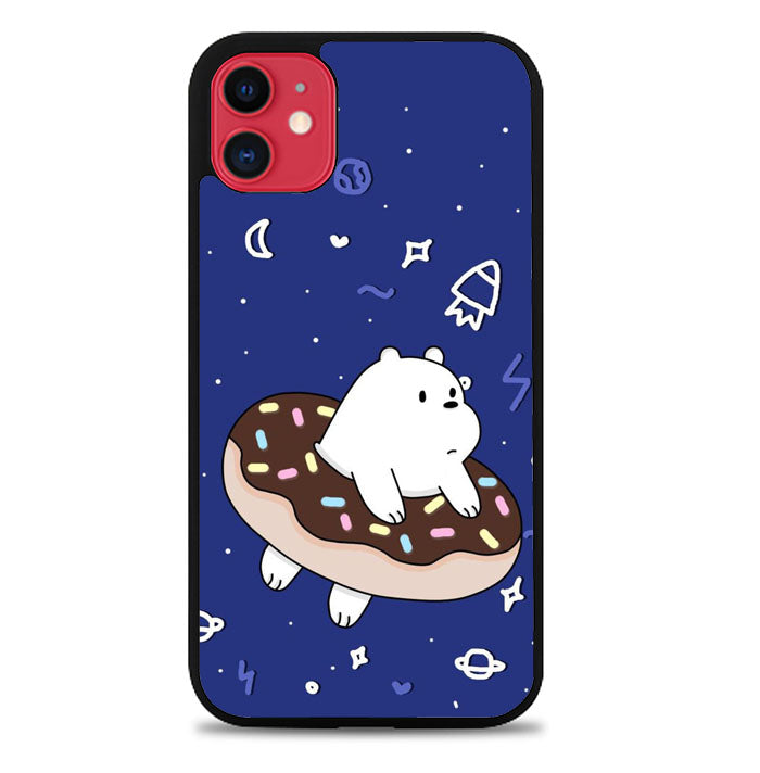 We Are Bare Bears Donut P0251 iPhone 11 Case