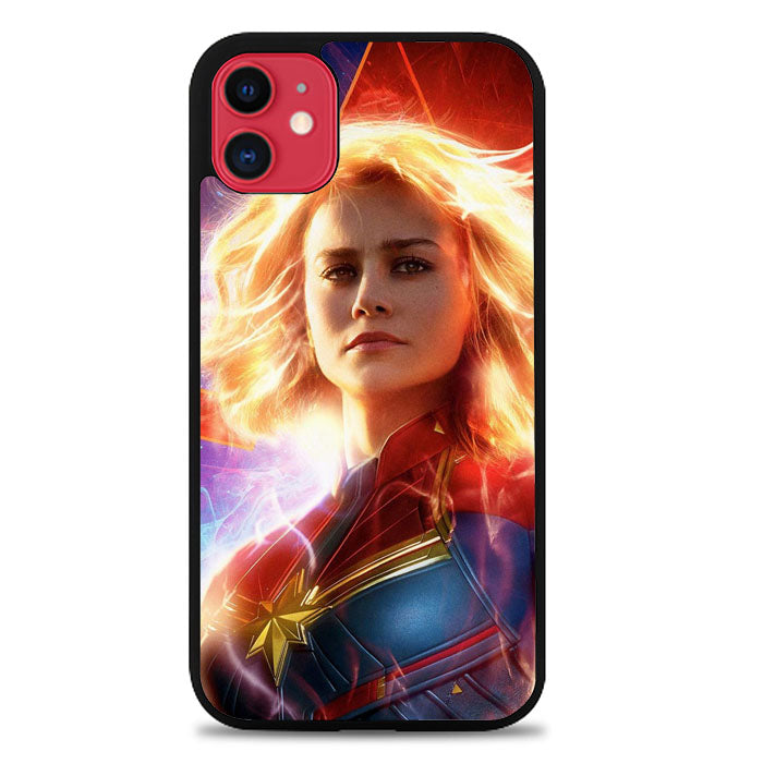 Captain Marvel Heroes P0587 iPhone 11 Case