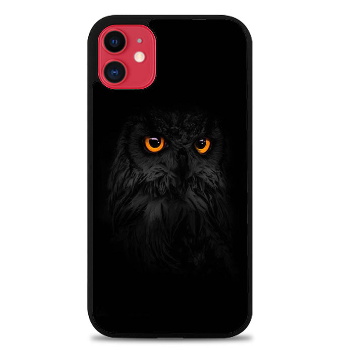 Eyes Owl P0957 iPhone 11 Case