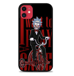 Rick I Want To Play a Game P1964 iPhone 11 Case