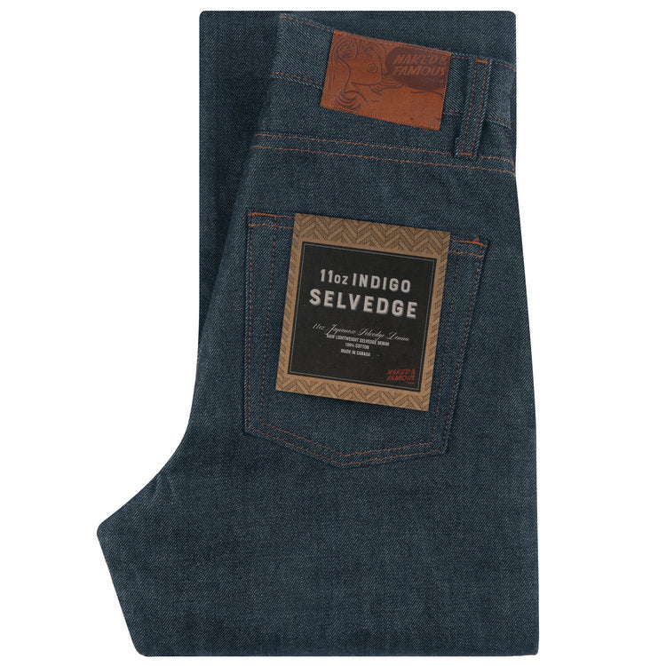 The Classic - 11 oz Indigo Selvedge