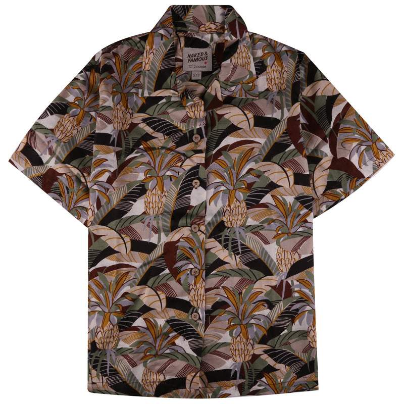 Camp Collar Shirt - Jungle Vacation Brown