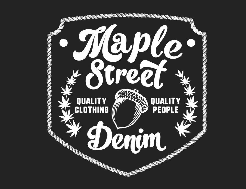 Maple Street Acorn Logo Tee
