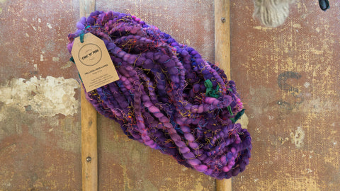 """Purple Embrace"" - Super Bulky Yarn"