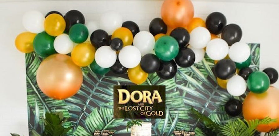 Celebrate the release of Dora the Explorer with a Dora-themed birthday party!