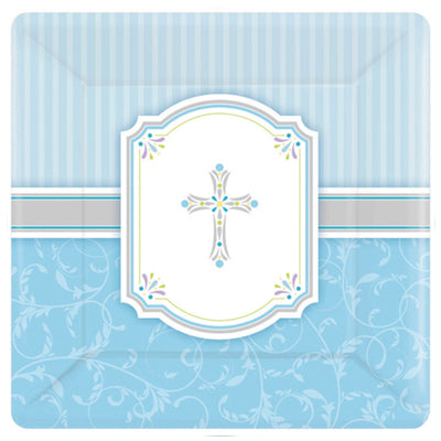 Blessings Blue Party Supplies