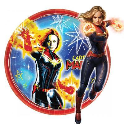 Captain Marvel Party Supplies