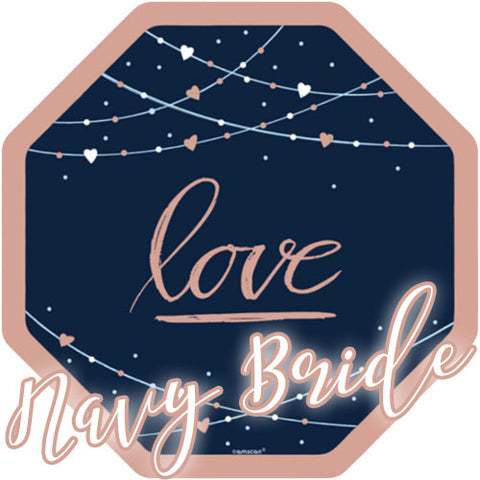 Navy Bride Party Supplies