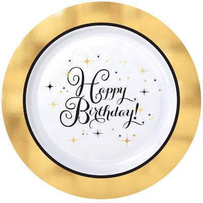 Premium Gold Birthday Party Supplies