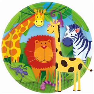 Jungle Animals Party Supplies