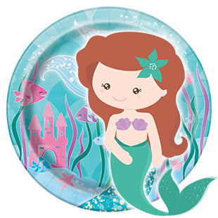 Mermaid 1st Birthday Party Supplies