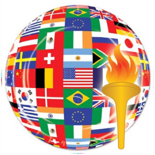 International Flags Party Supplies