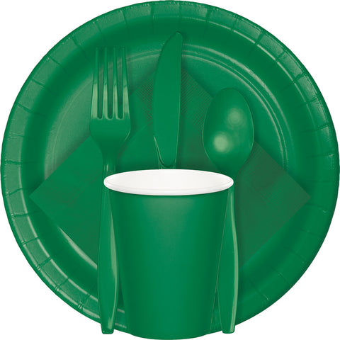 Green Tableware