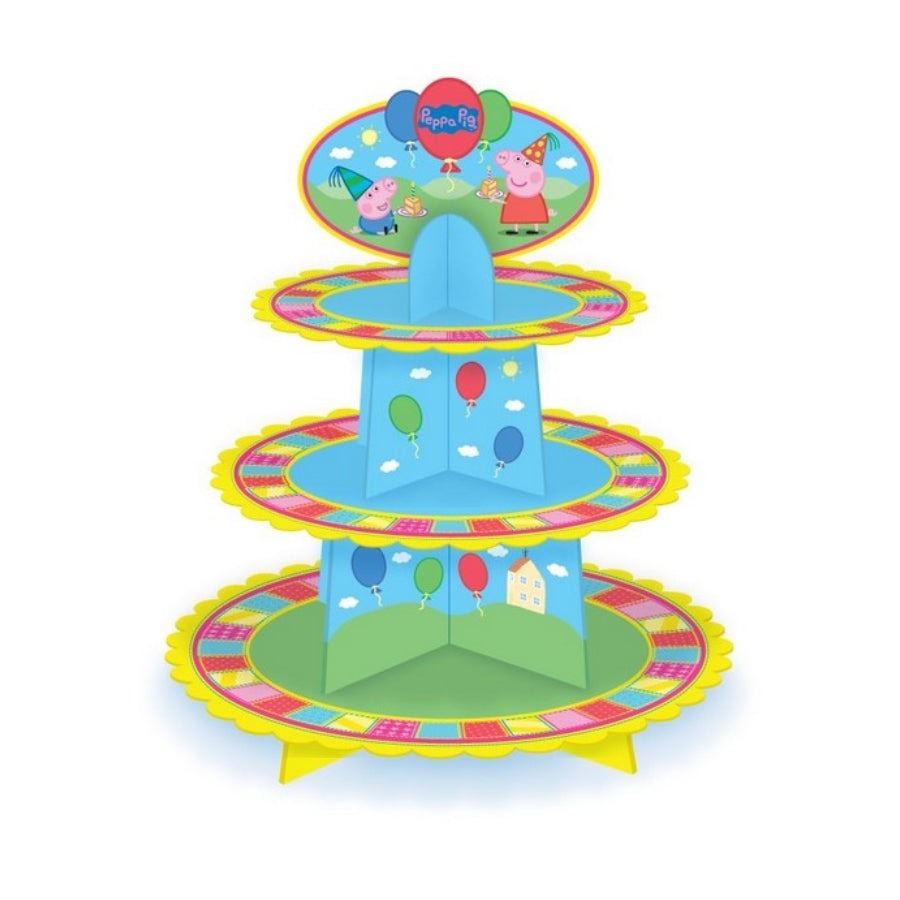 Peppa Pig Cupcake Tier Stand - Party Savers