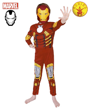 Boys Costume - Iron Man Deluxe