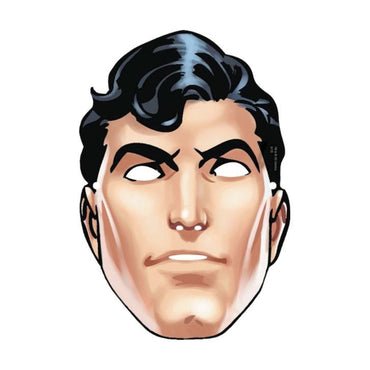Superman Paper Mask 8pk